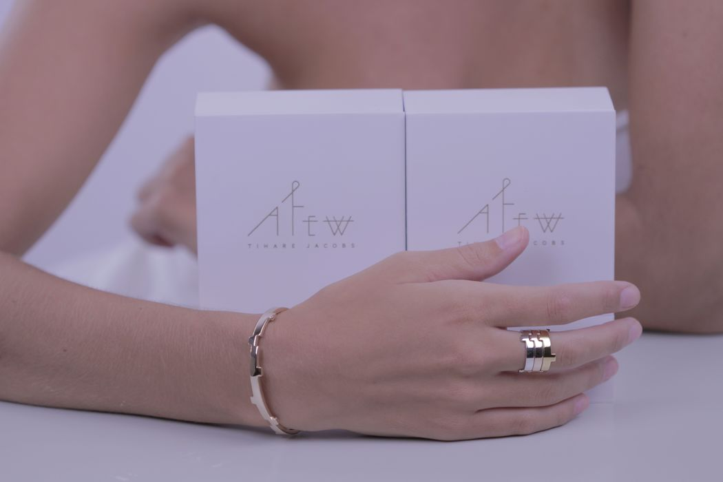 Afew Jewels - Colección Legoo 18K Oro Blanco, Rosa y Amarillo