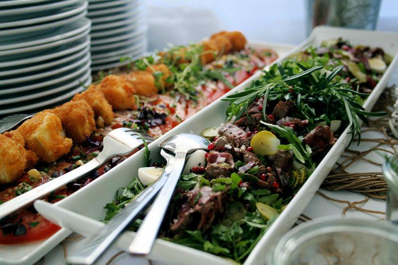 Beispiel: Buffets - für jeden etwas, Foto: Brunckhorst Catering.