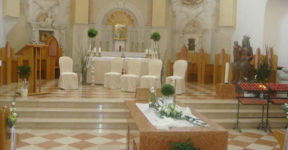Beispiel: Eindruck von der Kirche, Foto: Kartause Gaming.