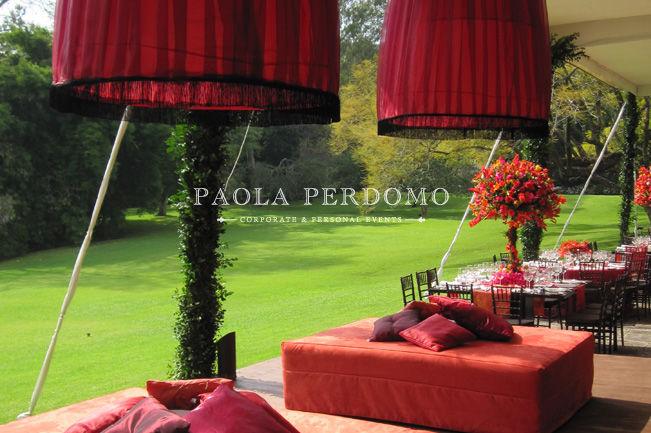 Ambientación de espacios para bodas. Foto: Paola Perdomo