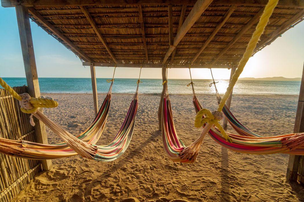 Atardeceres en la Guajira Colombia