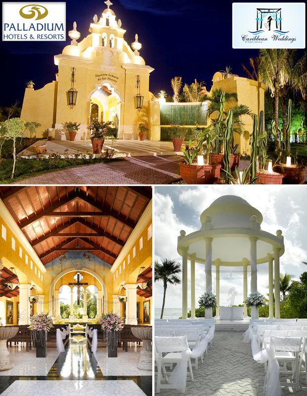 El resort de la Riviera Maya más pedido para bodas debido a su capilla certificada de Nuestra Señora de las Nieves y por sus tarifas muy accesibles. Más información: Tel +52 999 953 64 29 Cel +52 999 738 66 05 (Whatsapp) Mail: garjona@caribbean-weddings.com.mx