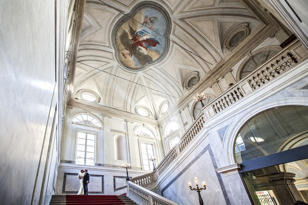 Moreno Belloni matrimonio civile a milano