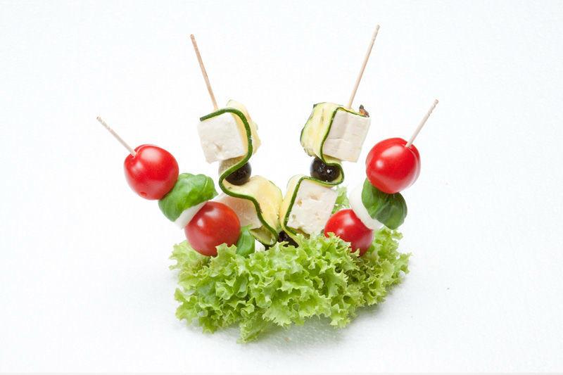 Beispiel: Spiesse, Foto: Lunchbox Catering & Event.