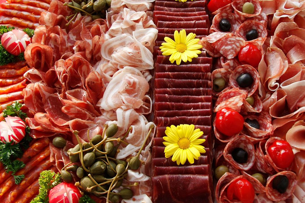 Fleischplatten von Gourmetbox für den einfachen Apéro...