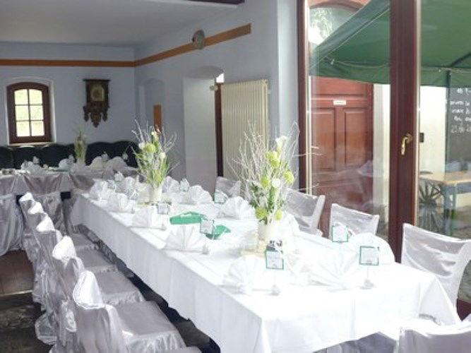 Beispiel: Tafeleindeckung, Foto: Restaurant Hofstall.