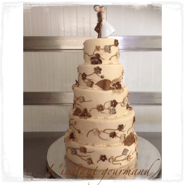 Mariage  thème  Chocolat - Vanille