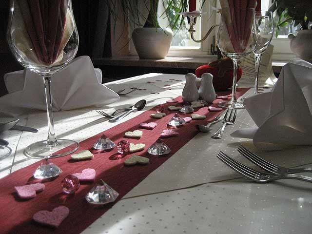 Beispiel: Candle Light Dinner, Foto: Parkhotel Meerane.