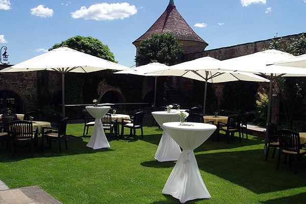 Beispiel: Rosengarten, Foto: Burg Stettenfels.