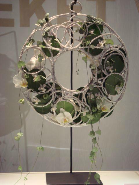 Beispiel: Originelle Ideen mit Blumen, Foto: Blumen Becht.