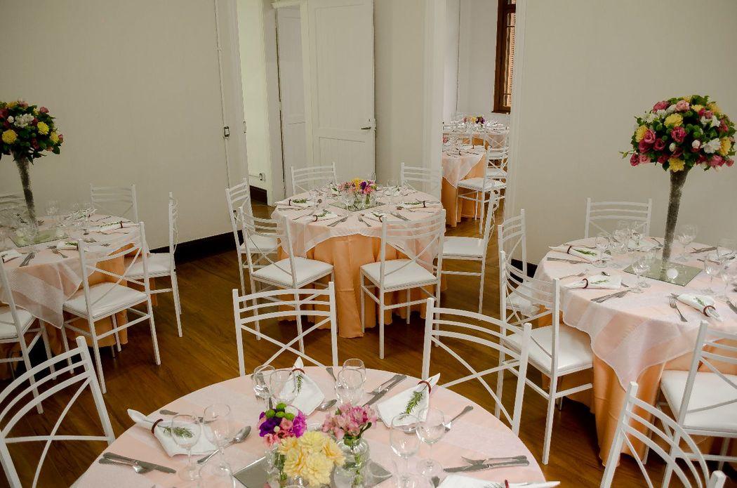 Mesas para almoço