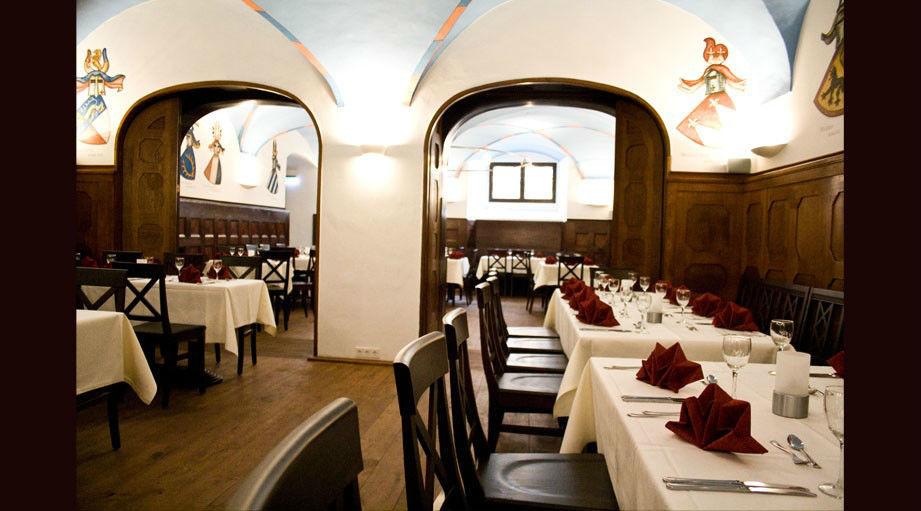 Beispiel: Restaurant Hauptraum, Foto: Regensburger Ratskeller.