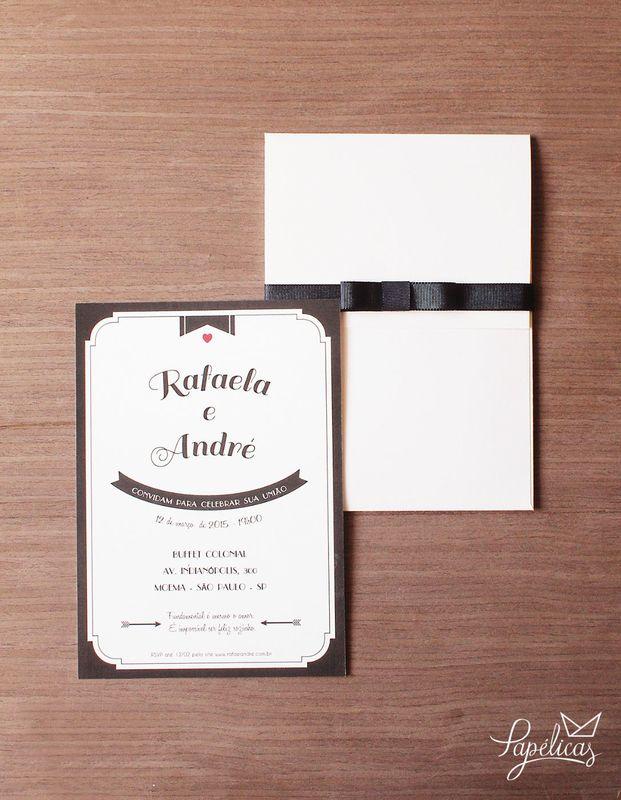 Atelier Papélicas - convite Dominique