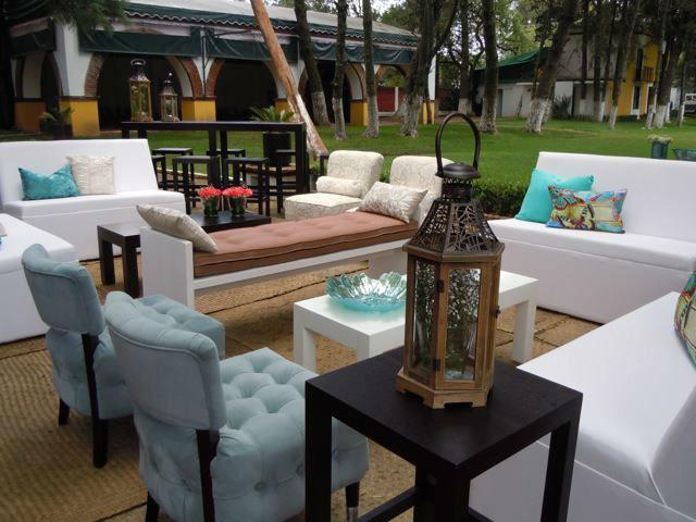 Banquetes, montaje, mobiliario y servicios adicionales para boda - Foto Villa Xavier
