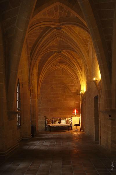 Detalle del claustro