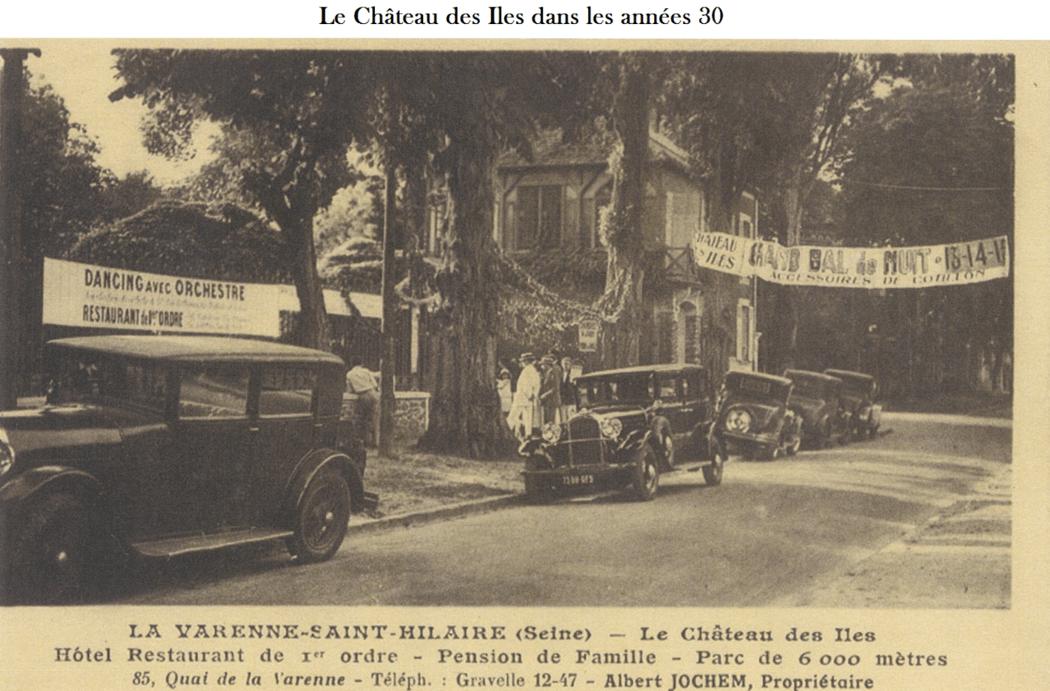 Historique du Château des Îles