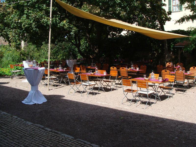 Beispiel: Kaffeegarten, Foto: Gaststätte Alte Remise.