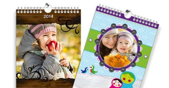 Beispiel: Fotokalender, Foto: Prentu.