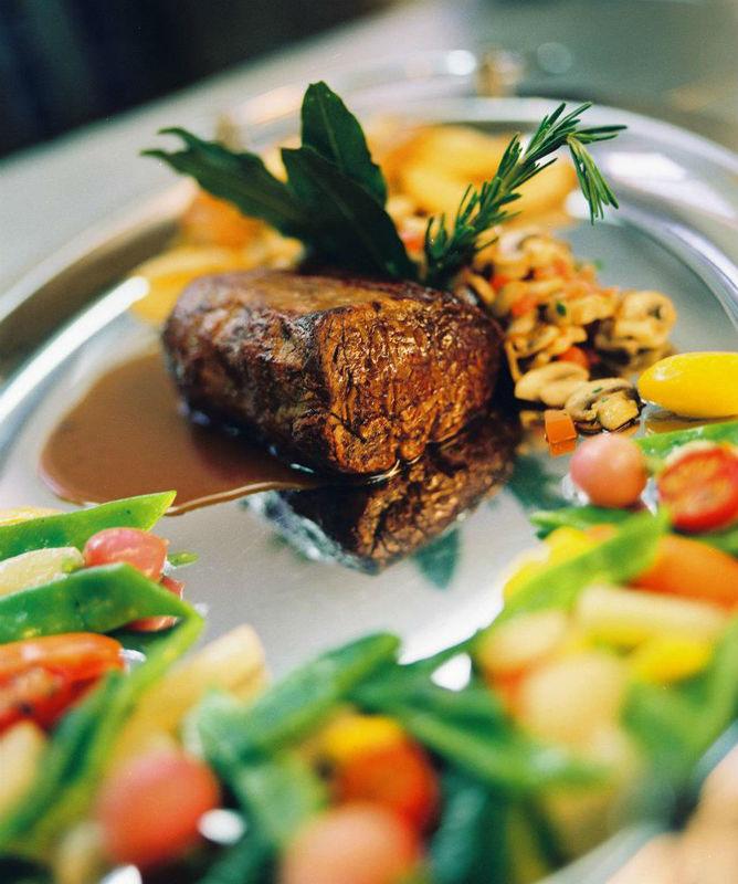 Beispiel: Gehobene Küche, Foto: Safran Zunft.
