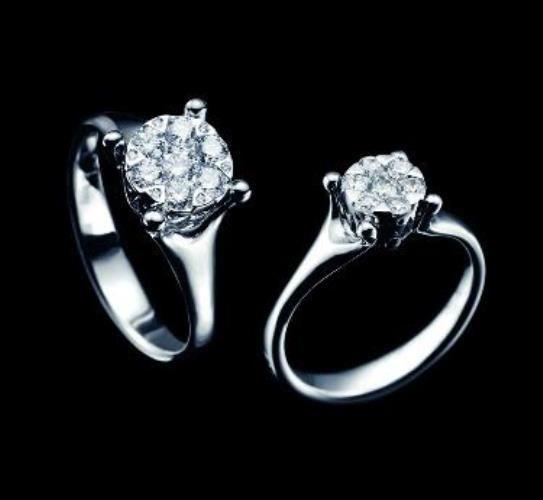 Beispiel: Wunderschöne Verlobungsringe, Foto: S.M. Wild.