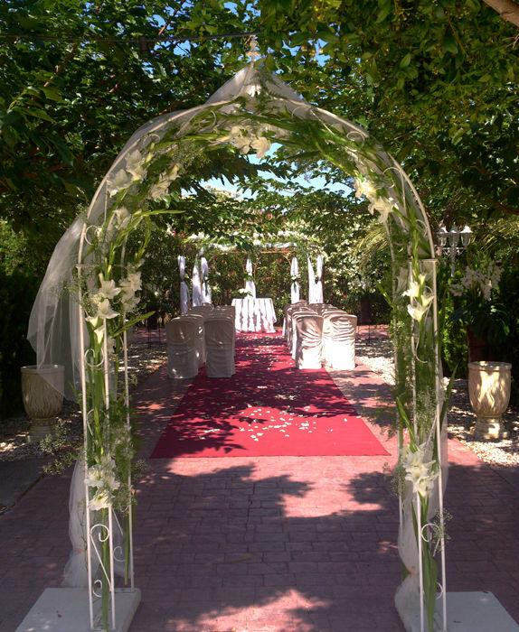 boda en la finca