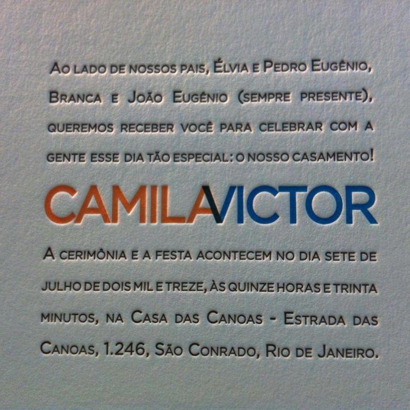 Carimbo Letterpress