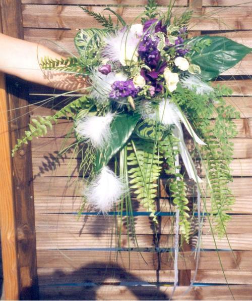 Beispiel: Blumen für den schönsten Tag, Foto: Blumen Reinhard.