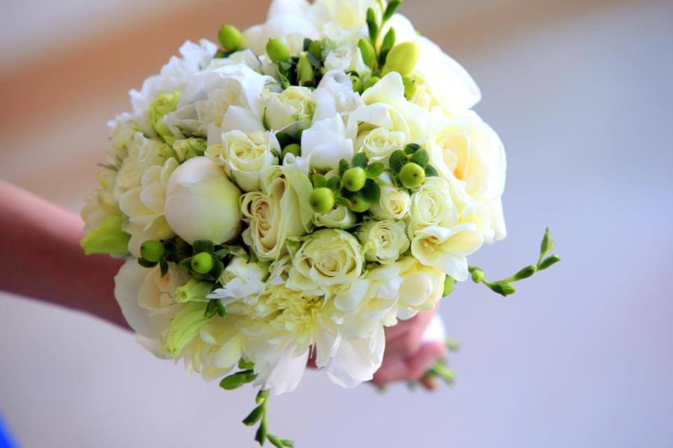 Bouquet de Noiva Peoneas e Frésias