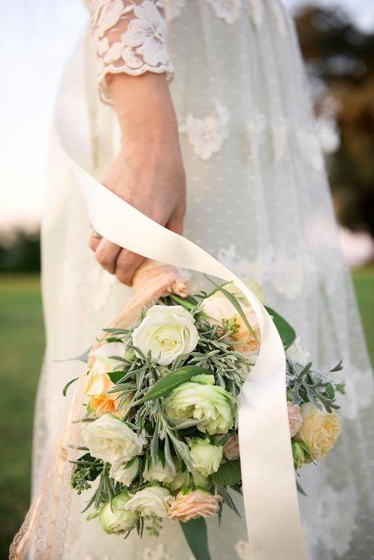 Bouquet da sposa in stile shabby