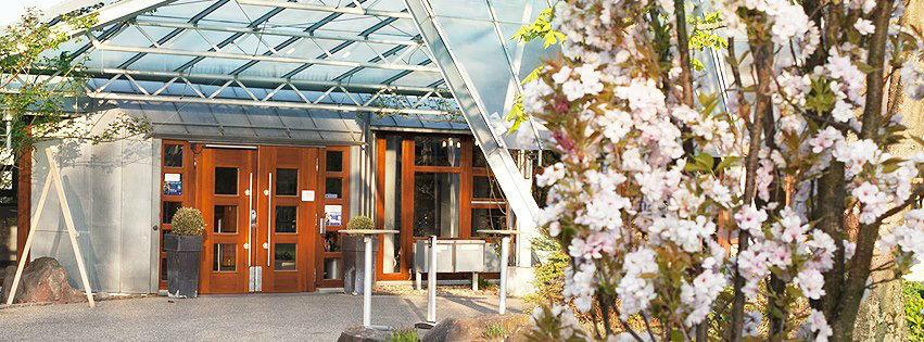Beispiel: Eingang, Foto: Hohenwart Forum.
