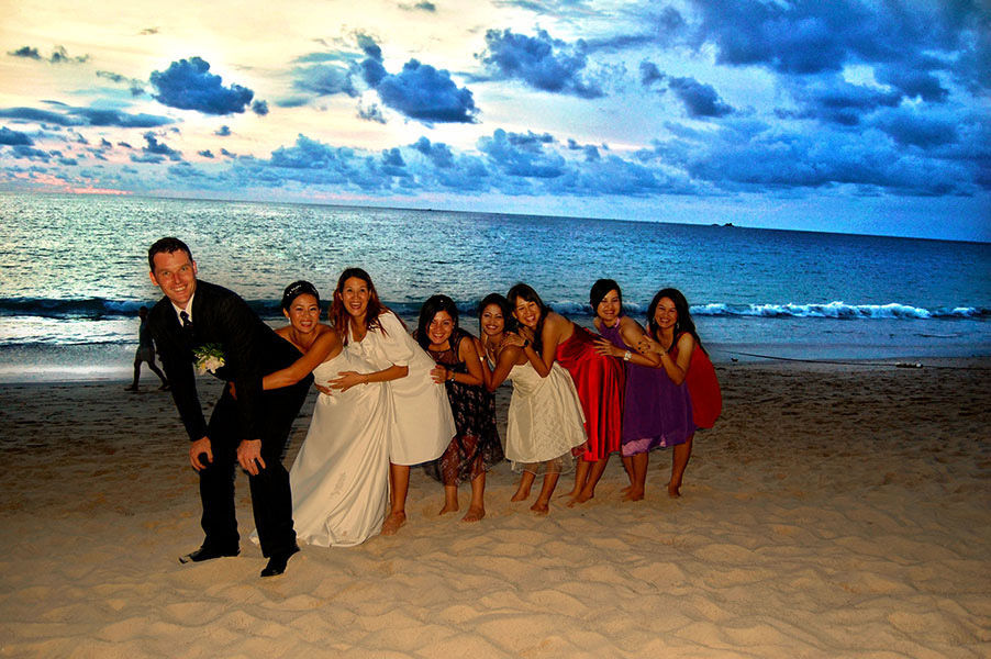 Beispiel: Gruppenfoto am Strand, Foto: JB_Pictures.