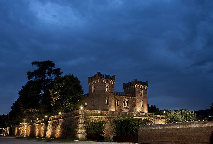 Esterno del Castello Bevilacqua