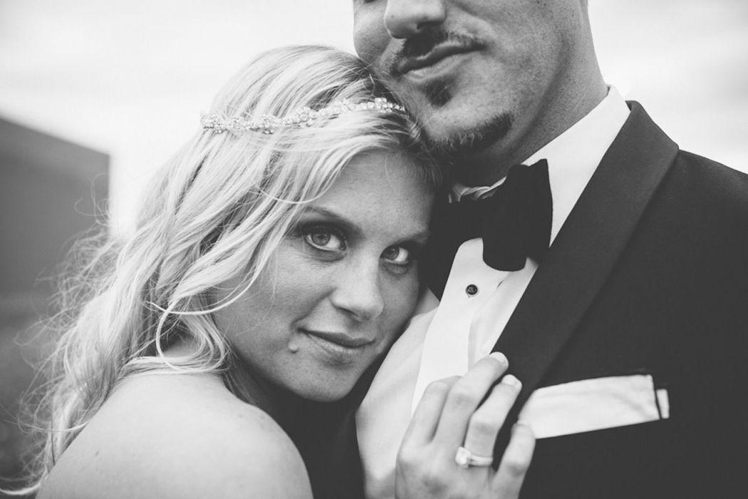 Beispiel: Hochzeitsfotografie, Foto: Michaela Nichole Photography.
