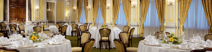 Beispiel: Barocksaal, Foto: Grand Hotel Europa Innsbruck.
