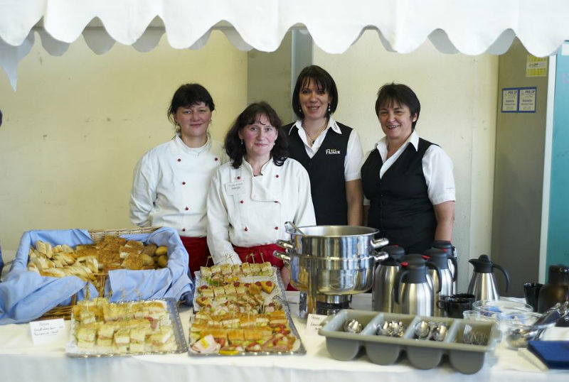 Beispiel: Catering-Team, Foto: Paiser Catering.