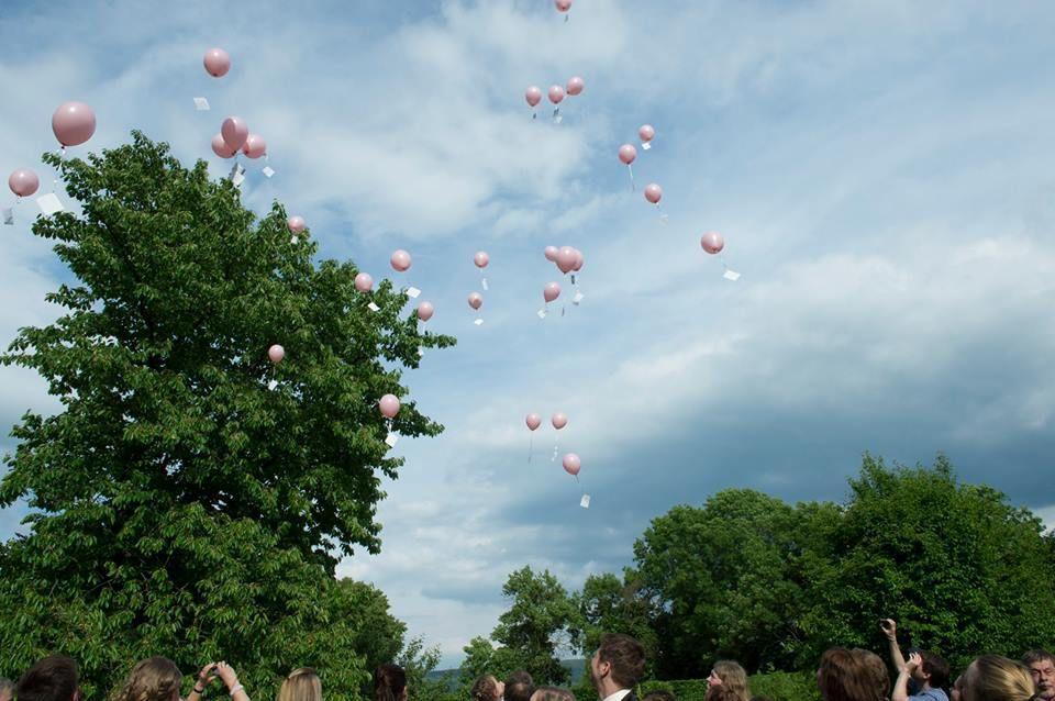 Beispiel: Hochzeitsballons, Foto: JA - Der Hochzeitsplaner.