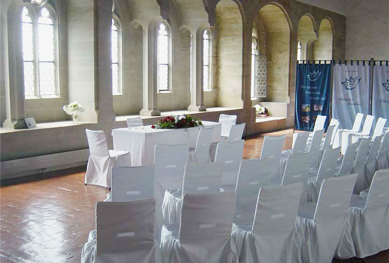 Beispiel: Trauung im Schloss, Foto: Schloss Lenzburg.