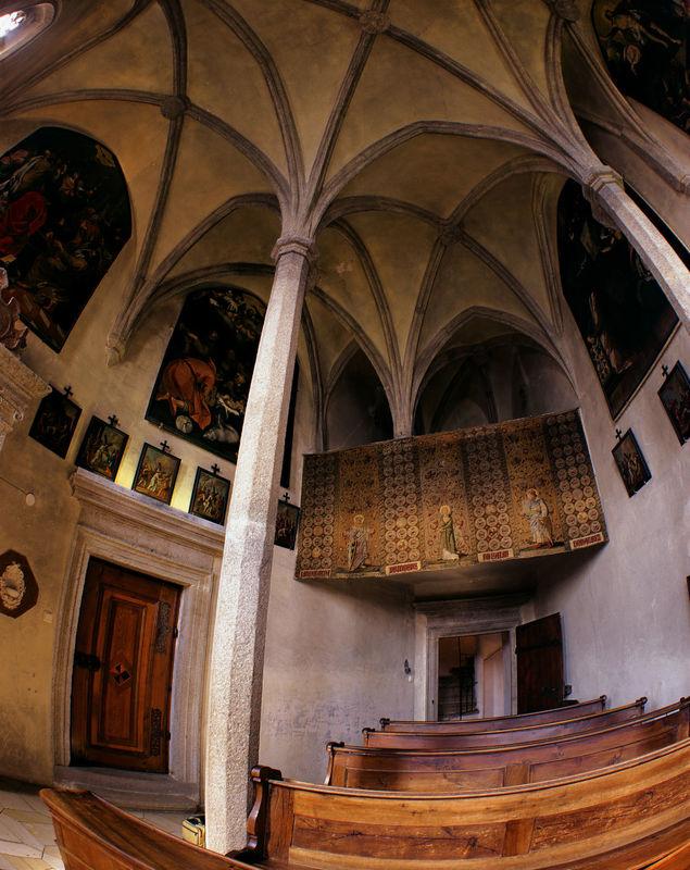 Beispiel: Kapelle, Foto: Burg Clam.