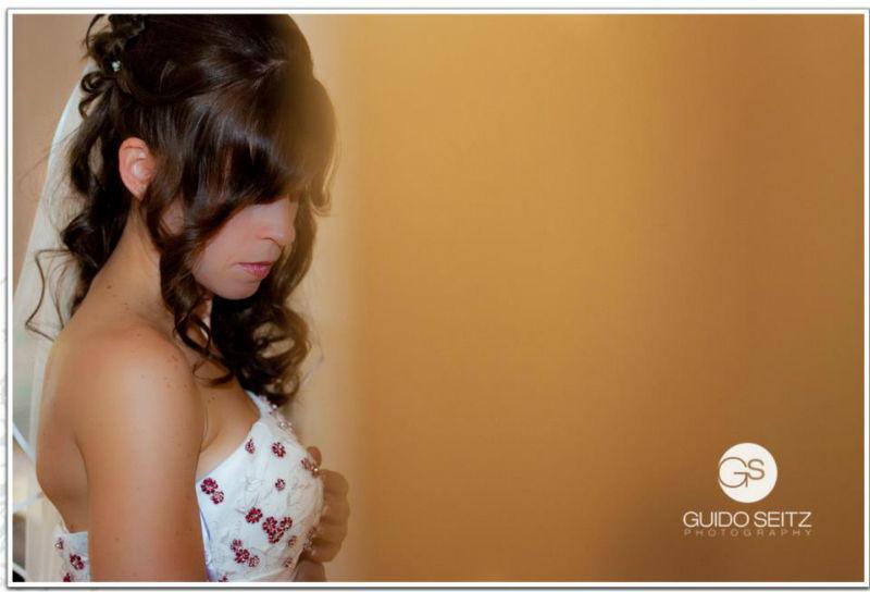 Beispiel: Portrait der Braut, Foto: Guido Seitz Photography.