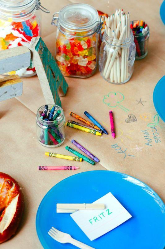 The Wedding Enterprise: tavolo dei bimbi