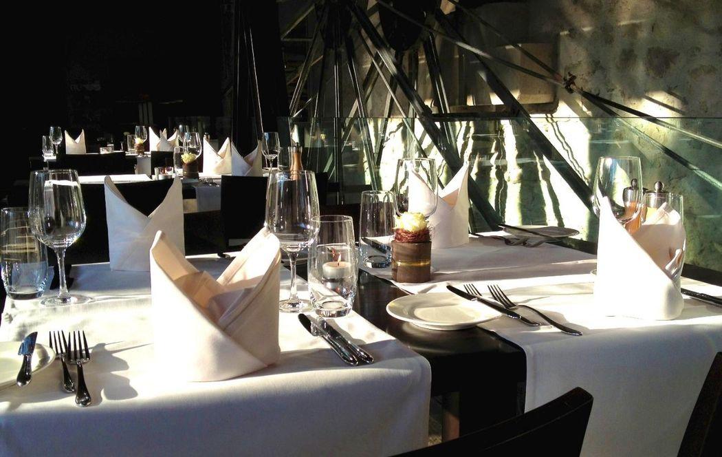 Beispiel: Tischdekoration, Foto: Kartause Ittingen.