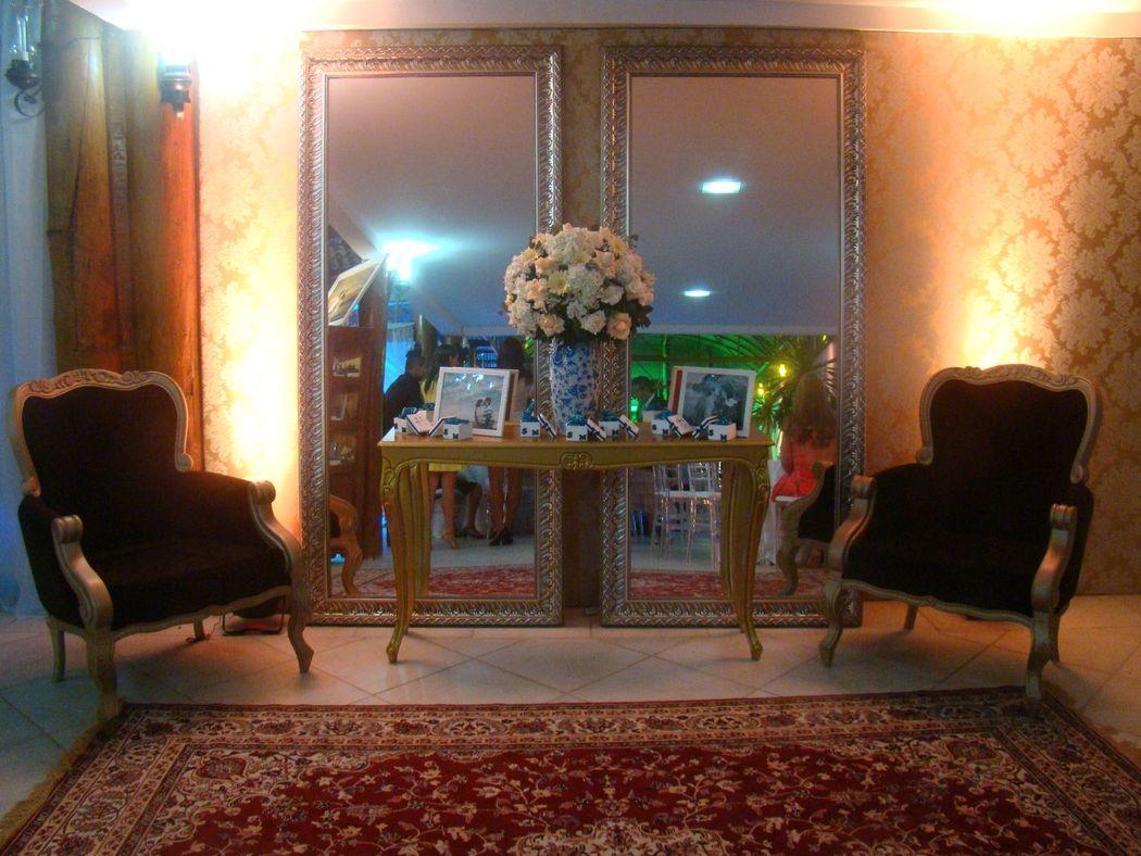 Lounge no salão