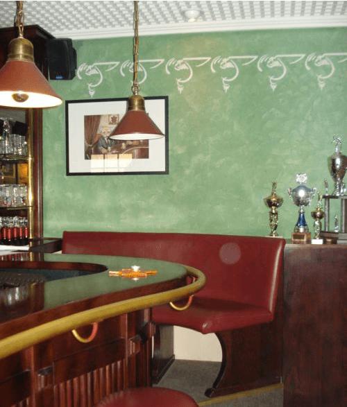 Beispiel: Theke, Foto: Mélange - Restaurant und Café.