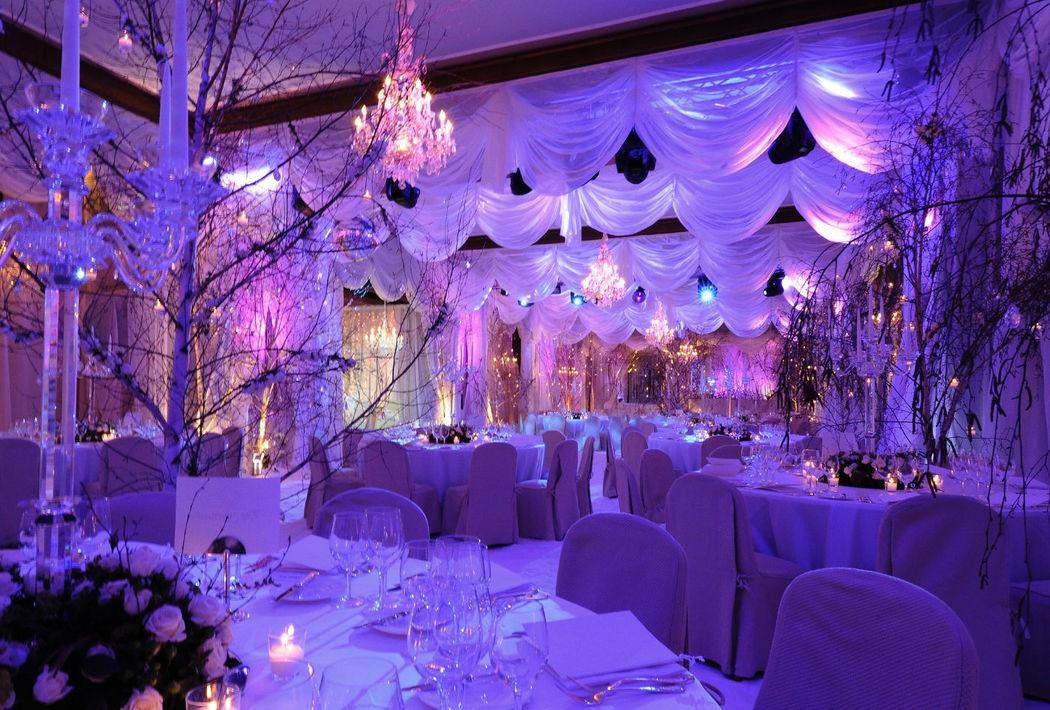 Beispiel: Feier Sie Ihre Hochzeit mit Stil, Foto: Badrutt's Palace Hotel.