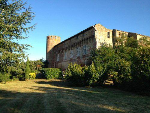 Le château vu du parc