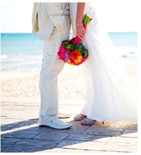 Beispiel: Hochzeit am Strand, Foto: itravel.
