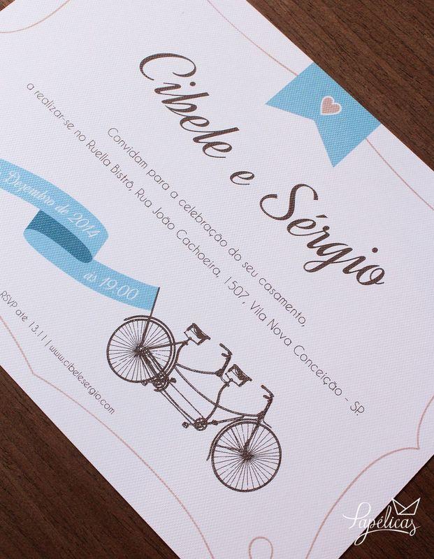 Atelier Papélicas - convite Bike