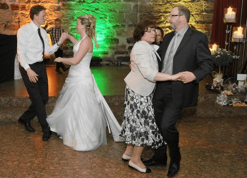 Beispiel: Tanzfläche, Foto: Richterkeller.
