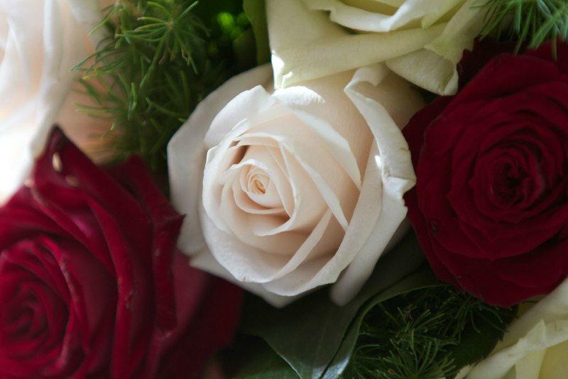 Beispiel: Floristik und Deko, Foto: Art of Wedding.