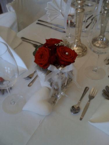 Beispiel: Hochzeitsdekoration, Foto: Traumwerk.